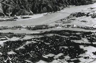 長井橋付近下側置賜野川